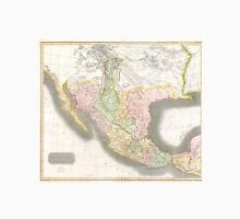 Vintage Map of Mexico (1814) Unisex T-Shirt
