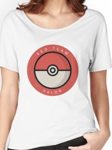 Red Team Valor Women's Relaxed Fit T-Shirt