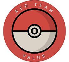 Red Team Valor Photographic Print