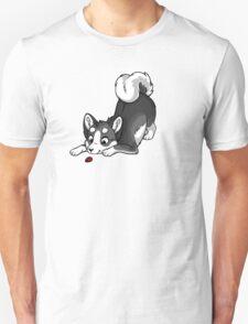 Little Dark Grey Husky T-Shirt
