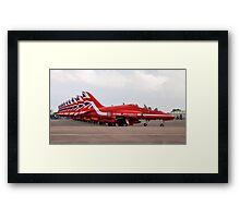 The Red Arrows at RIAT 2016 Framed Print