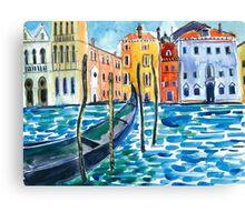 Venice - Watercolour Canvas Print