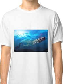 Mosasaur With Prey Classic T-Shirt