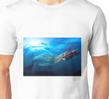 Mosasaur With Prey Unisex T-Shirt