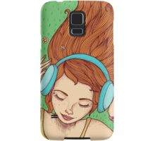 Summer, music and relax Samsung Galaxy Case/Skin