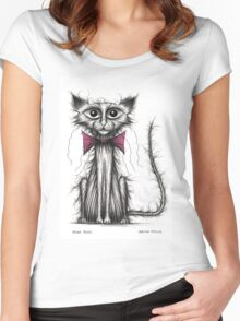 Posh puss Women's Fitted Scoop T-Shirt