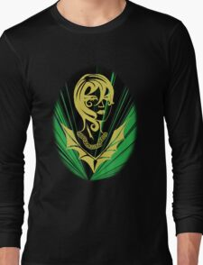 Sanity in Disguise (green) Long Sleeve T-Shirt