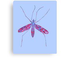 Primitive Crane Fly Canvas Print