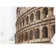 Colosseum, Rome, Italy Poster