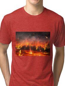 City Under Fire Tri-blend T-Shirt