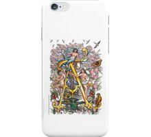 "The Illustrated Alphabet Capital  A  ""Getting personal"" iPhone Case/Skin"
