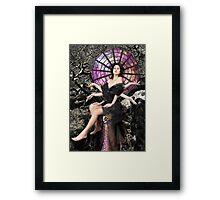 Arachne, Greek Mythological Goddess Framed Print
