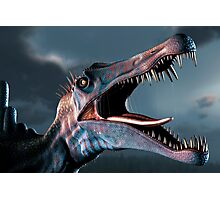 Spinosaurus Head Study Photographic Print