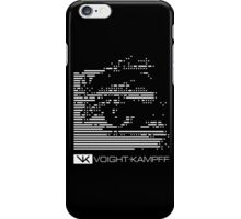 VOIGHT-KAMPFF TEST - BLADE RUNNER iPhone Case/Skin