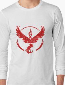 Pokemon,Team Valor Long Sleeve T-Shirt