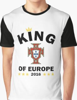 Portugal Champions Euro 2016 Graphic T-Shirt