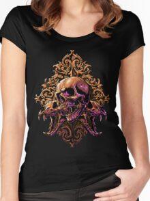 Skull Art Women's Fitted Scoop T-Shirt