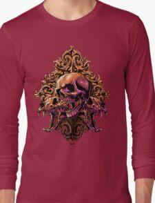 Skull Art Long Sleeve T-Shirt