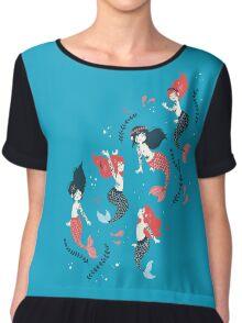 Tattooed Mermaids  Chiffon Top