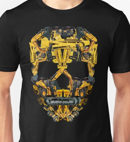 Skull Heavy Equipment Unisex T-Shirt