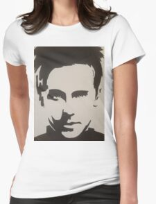 Handpainted Jared Leto Womens Fitted T-Shirt