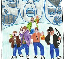 The Monster Squad by wislingsailsmen