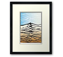 tiger mountain Framed Print