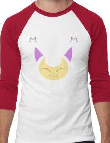 Pokemon - Skitty / Eneko Men's Baseball ¾ T-Shirt