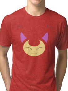 Pokemon - Skitty / Eneko Tri-blend T-Shirt
