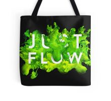 JUST FLOW (Green) Tote Bag