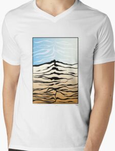 tiger mountain Mens V-Neck T-Shirt