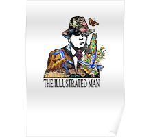 T I M E The Illustrated Man Emblem Poster