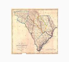 Vintage Map of South Carolina (1818) Unisex T-Shirt