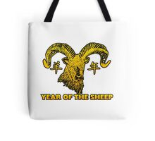 Chinese New Year of The Sheep Goat Ram Tote Bag