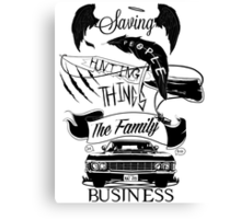 The Family Business Canvas Print