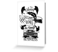 The Family Business Greeting Card