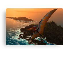 Pteranodon sternbergi Canvas Print
