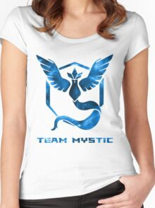 The Blue Team Women's Fitted Scoop T-Shirt