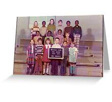 1973-1974, WESTERN ELEM. SCHOOL, 2ND. GRADE, HICKMAN, KY Greeting Card