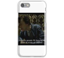 sherlock tv show  iPhone Case/Skin
