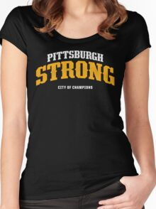 PITTSBURGH STRONG Women's Fitted Scoop T-Shirt