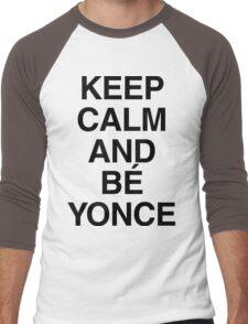 Keep calm and Bé Yonce Men's Baseball ¾ T-Shirt