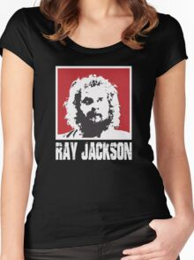 RAY JACKSON - BLOODSPORT MOVIE Women's Fitted Scoop T-Shirt