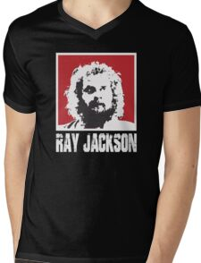 RAY JACKSON - BLOODSPORT MOVIE Mens V-Neck T-Shirt