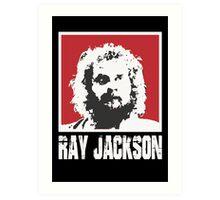 RAY JACKSON - BLOODSPORT MOVIE Art Print