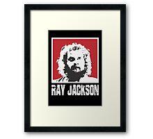RAY JACKSON - BLOODSPORT MOVIE Framed Print