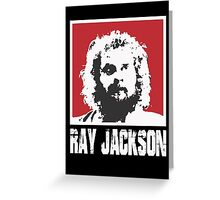 RAY JACKSON - BLOODSPORT MOVIE Greeting Card