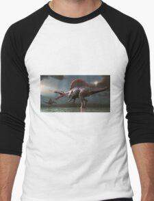 Spinosaurus Men's Baseball ¾ T-Shirt
