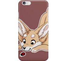 Little Fennec Fox iPhone Case/Skin