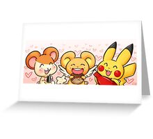 Mascot Love Greeting Card